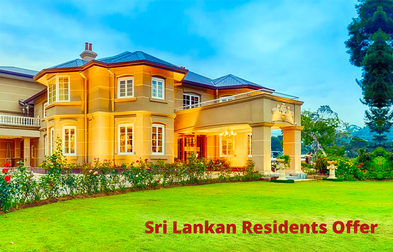 Sri Lankan Residents Offer - Westbury Palace